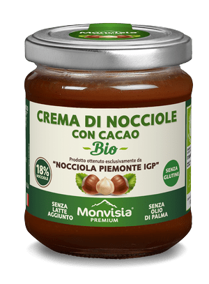 Piemonte IGP hazelnuts and cocoa 18%