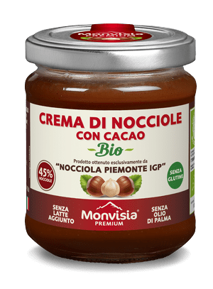 Piemonte IGP hazelnuts and cocoa 45%
